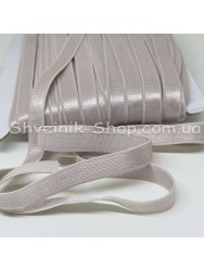 Резина для бретелек бежевая ширина 1см в упаковке 46м цена за упаковку