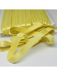Резина для бретелек желтая ширина 1см в упаковке 46м цена за упаковку