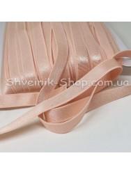 Резина для бретелек персик ширина 1см в упаковке 46м цена за упаковку