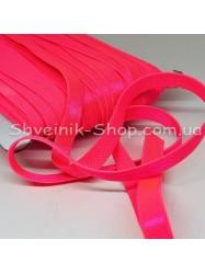 Резина для бретелек неоново розовая ширина 1см в упаковке 46м цена за упаковку