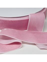 Велюр Бархат Размер 4 см Цвет : бледно розовый в упаковке 23 метров